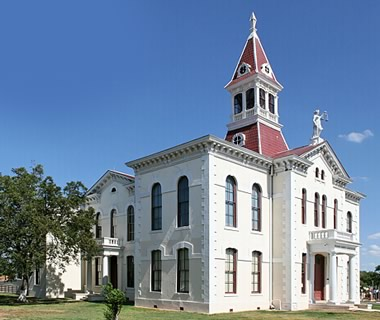 Wilson County Courthouse in Floresville, Texas